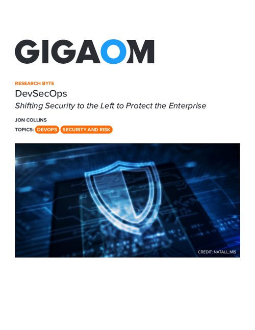 DevSecOps Shifting Security to the Left to Protect the Enterprise