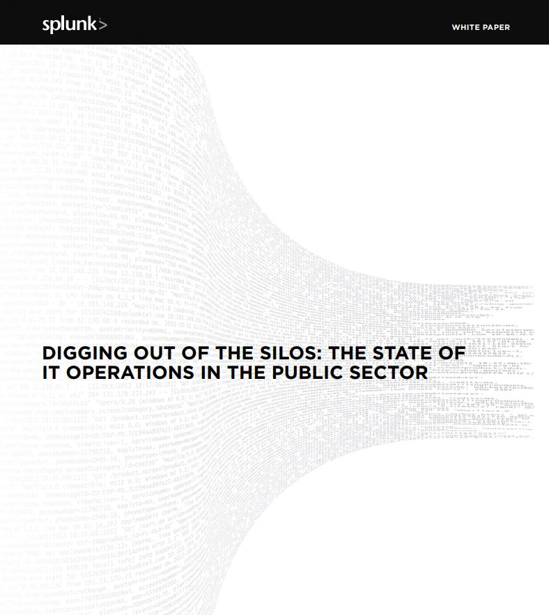 Digging Out of the Silos: The State of IT Operations in the Public Sector