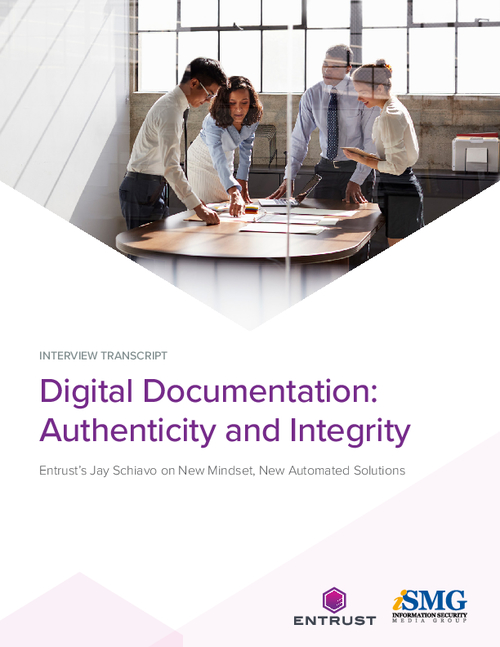 Digital Documentation: Authenticity and Integrity