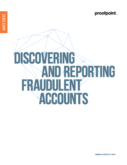 Discovering and Reporting Fraudulent Accounts