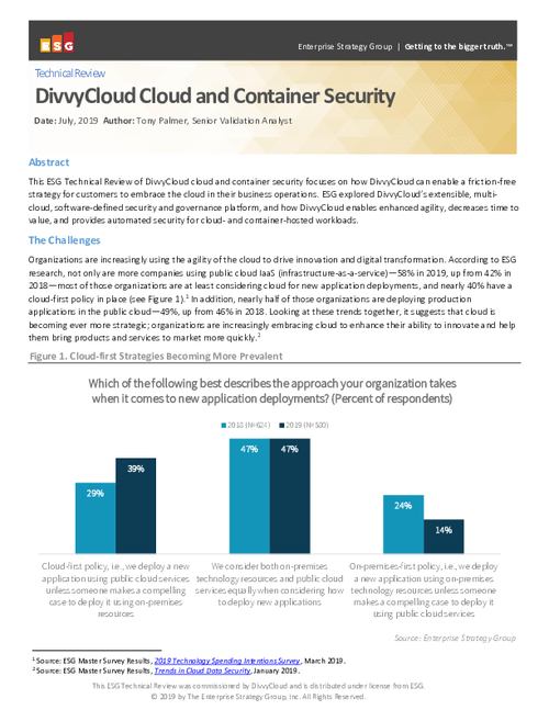 DivvyCloud Cloud and Container Security