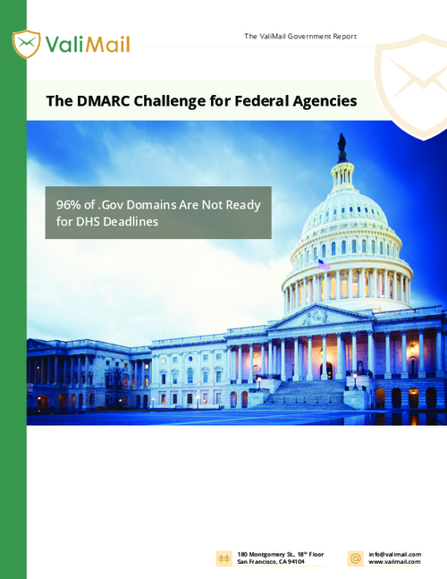 The DMARC Challenge for Federal Agencies