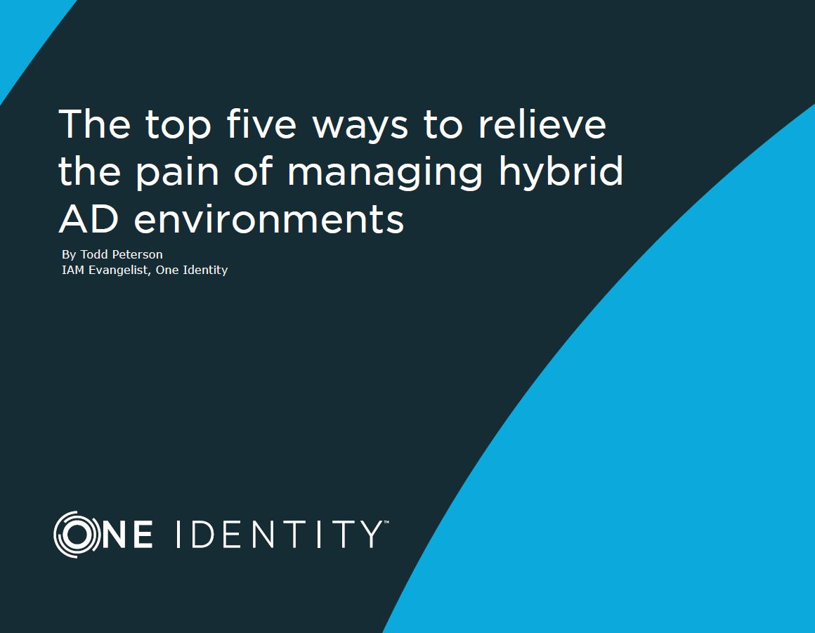 Don't Let Your Hybrid Active Directory Environment Cause You Pain