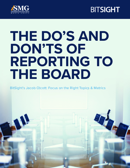 The Do's and Don'ts of Reporting to the Board
