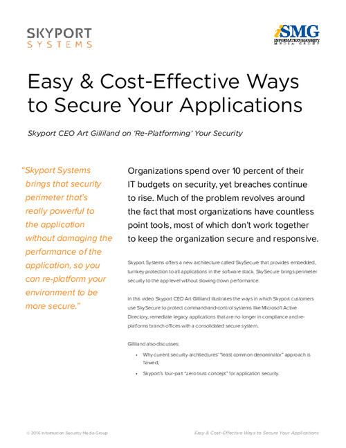Easy & Cost-Effective Ways to Secure Your Applications