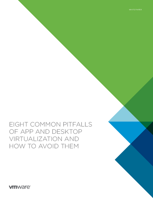Eight Common Pitfalls of App and Desktop Virtulization