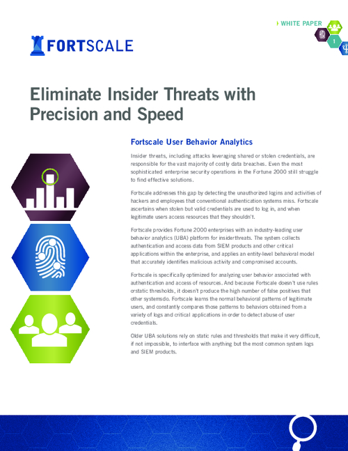 Eliminate Insider Threats with Precision and Speed