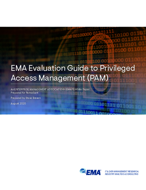 EMA Evaluation Guide to Privileged Access Management (PAM)