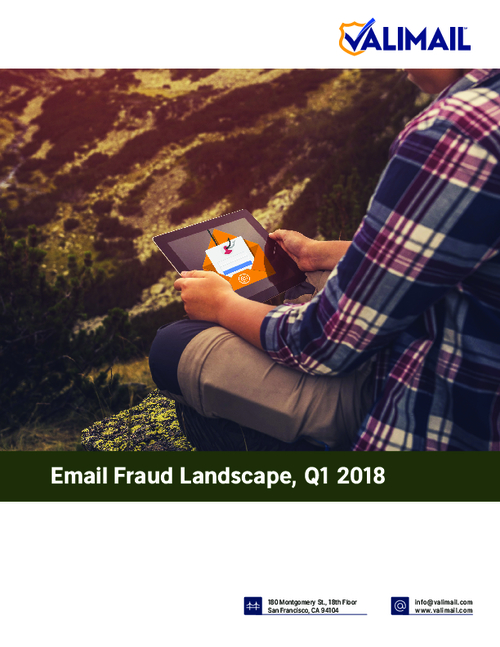 Email Fraud Landscape, Q1 2018