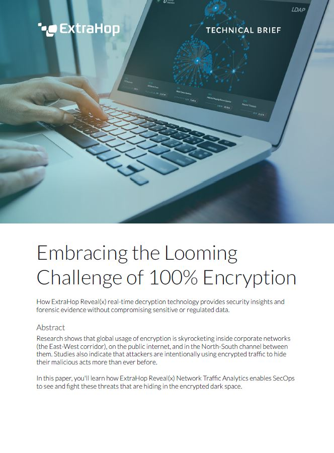 Embracing the Looming Challenge of 100% Encryption