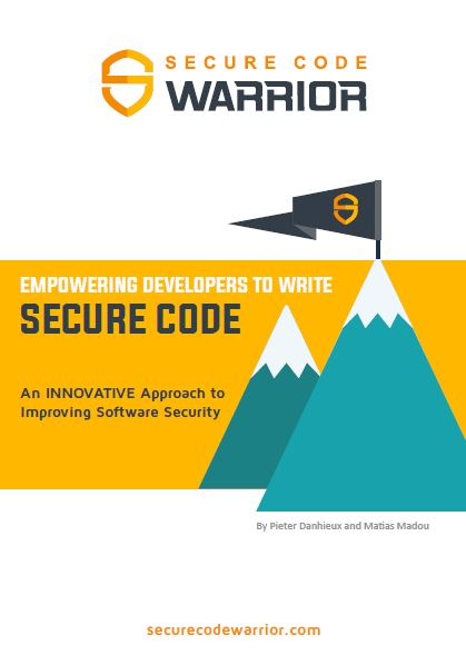 Why empowering developers to write secure code is the next wave of application security