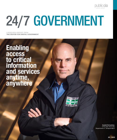 24/7 Government - a Public Sector CIO Special Report