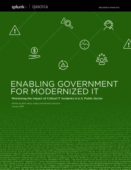 Enabling Government for Modernized IT
