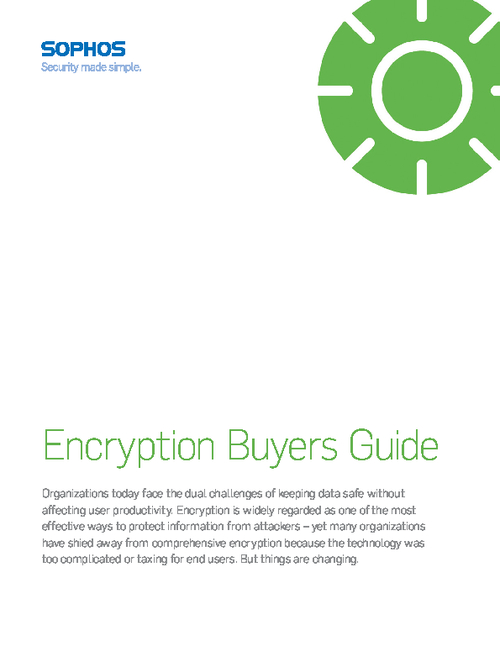 Encryption Buyers Guide