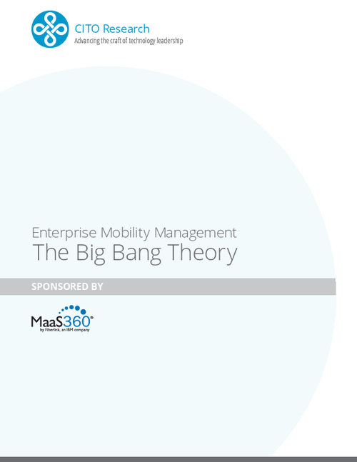 Enterprise Mobility Management The Big Bang Theory