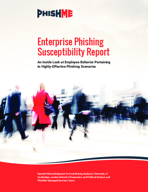Enterprise Phishing Susceptibility Report