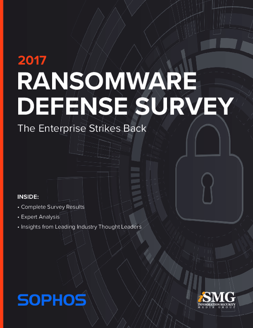 The Enterprise Strikes Back - 2017 Ransomware Defense Survey