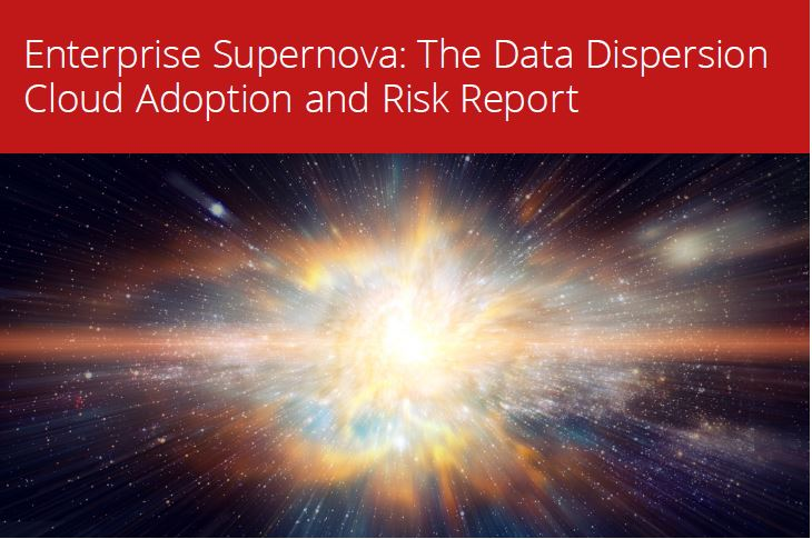Enterprise Supernova: The data dispersion Cloud Adoption and Risk Report