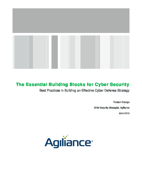 The Essential Building Blocks for Cyber Security