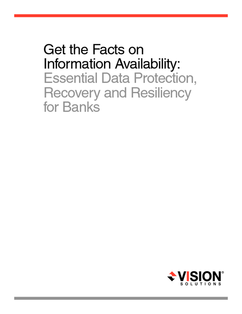Essential Data Protection, Recovery and Resiliency for Banks