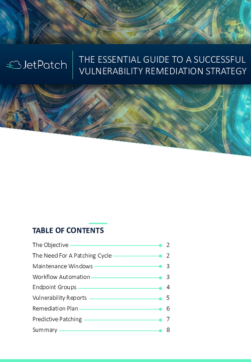 The Essential Guide To Successful Patch Remediation Strategy