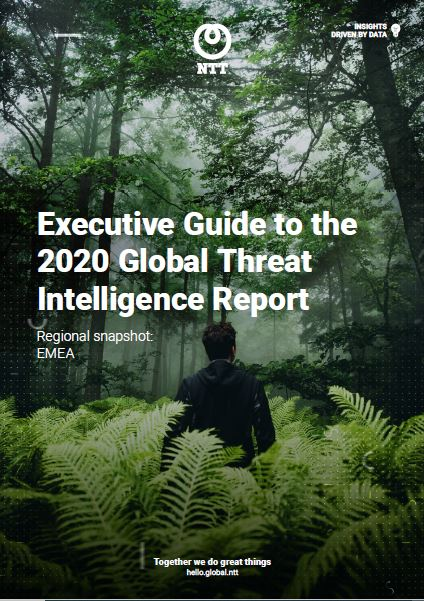EMEA | 2020 Global Threat Intelligence Report Executive Guide