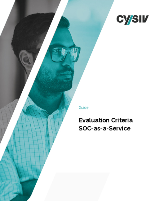Evaluation Criteria SOC-as-a-Service