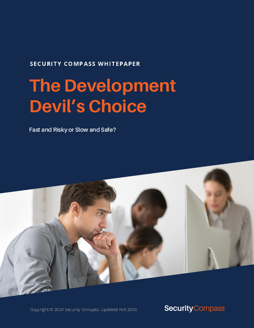 Fast and Risky or Slow and Safe? The Development Devil's Choice