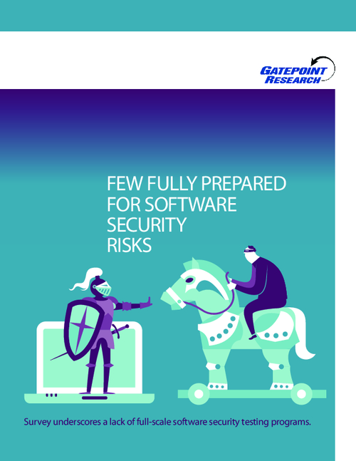 Few Fully Prepared for Software Security Risks