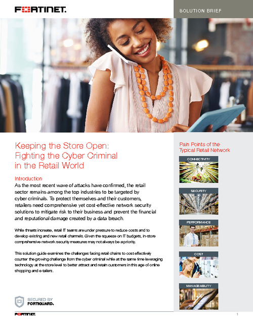 Fight Retail Cyber Crime While Enhancing the Shopping Experience