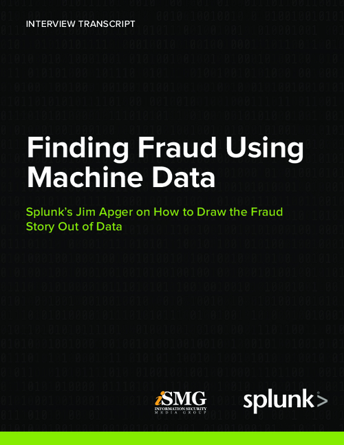 The Use of Machine Data in Finding Fraud
