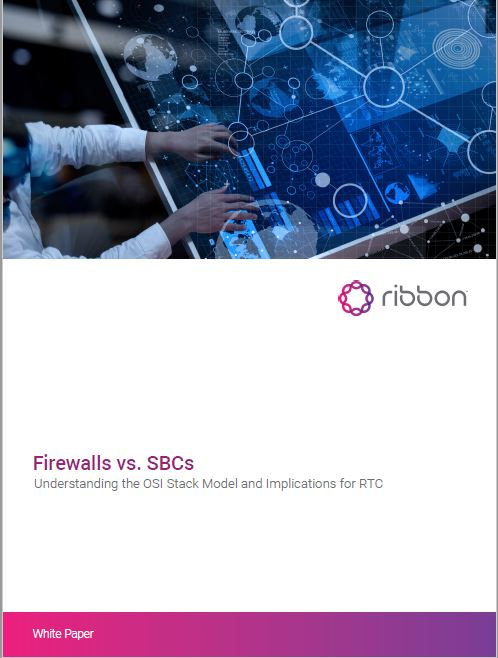 Firewalls vs SBCs (Session Border Control) White Paper