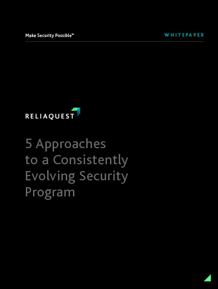 Five Approaches to a Consistently Evolving Security Program