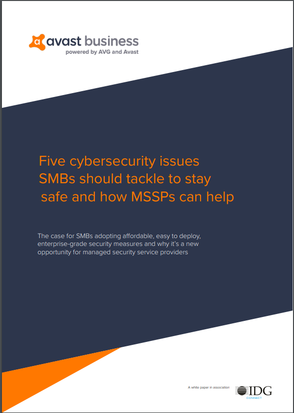 Five Cybersecurity Issues SMBs Should Tackle to Stay Safe and How MSSPs Can Help
