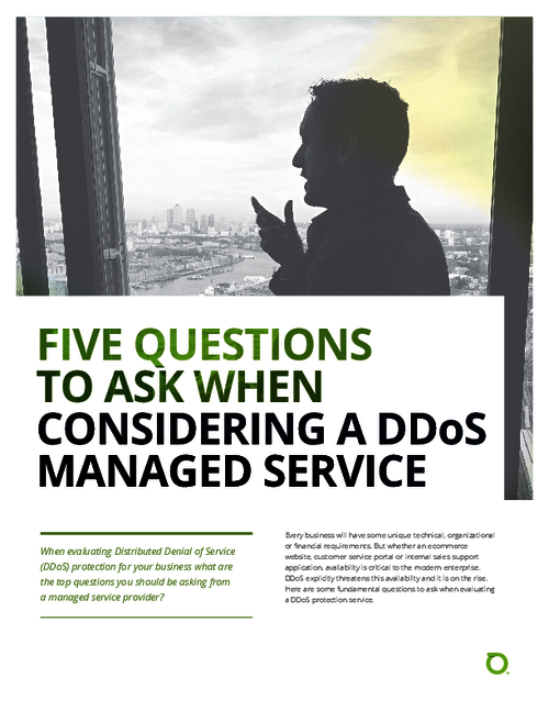 Five Questions to Ask When Evaluating a Managed Services Vendor