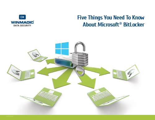 Five Things You Need To Know About Microsoft BitLocker
