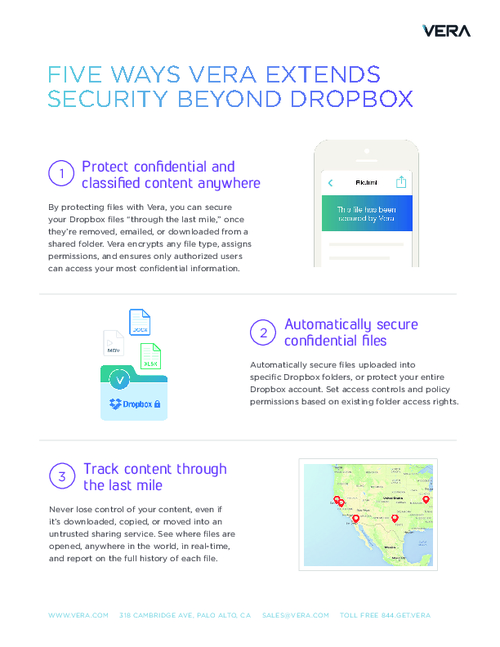Five Ways To Extend Security Beyond Dropbox