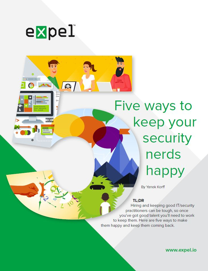 Five Ways to Keep Your Security Nerds Happy