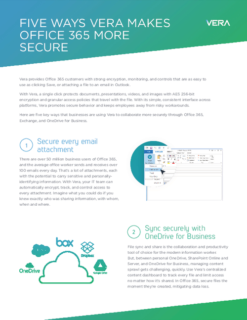 Five Ways To Make Office 365 More Secure