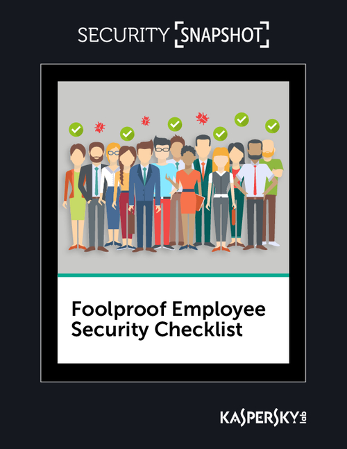 The Foolproof Employee Security Checklist