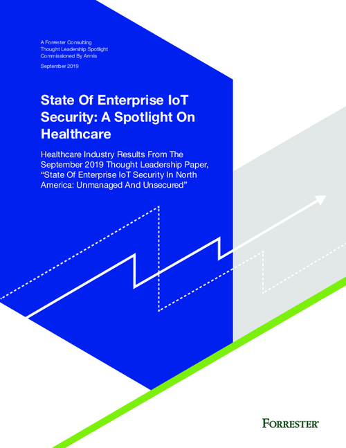 Forrester State of Enterprise IoT Security: A Spotlight on Healthcare