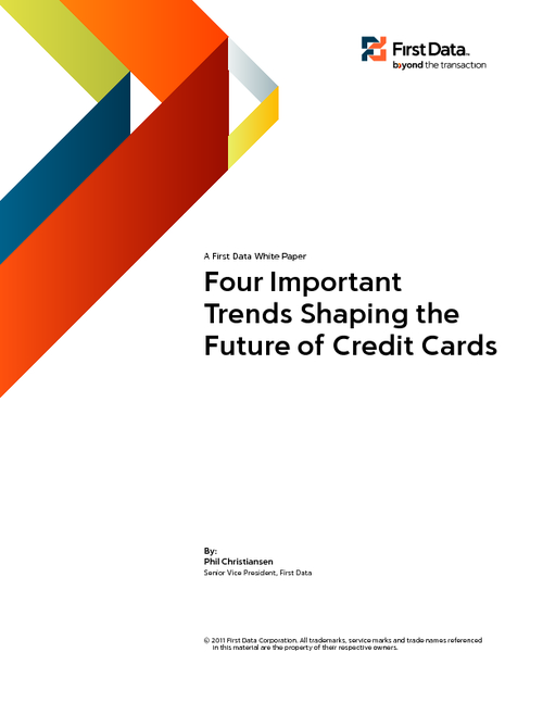 Four Important Trends Shaping the Future of Credit Cards