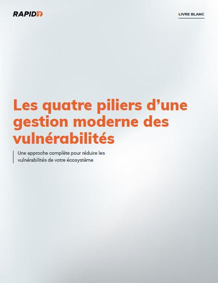 The Four Pillars of Modern Vulnerability Management (French Language)