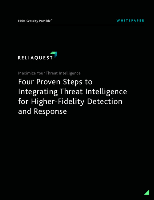 Four Proven Steps to Integrating Threat Intelligence for Higher-Fidelity Detection and Response