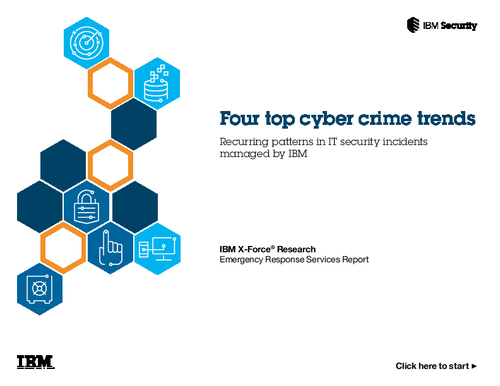 Four Top Cyber Crime Trends