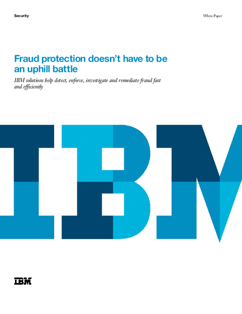 Fraud Protection Doesn't Have to be an Uphill Battle