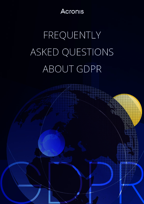 Frequently Asked Questions About GDPR