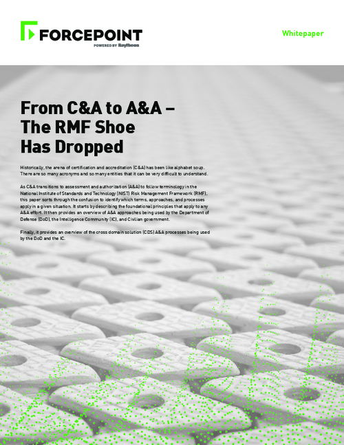 From C&A to A&A: The RMF Shoe Has Dropped