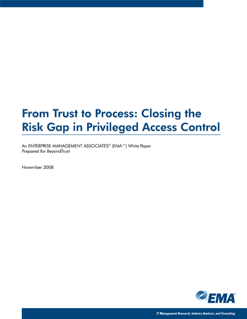 From Trust to Process: Closing the Risk Gap in Privileged Access Control