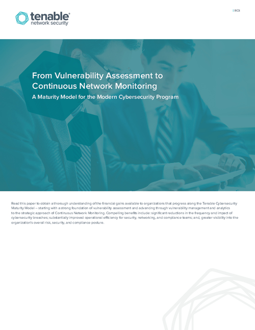 From Vulnerability Assessment to Continuous Network Monitoring